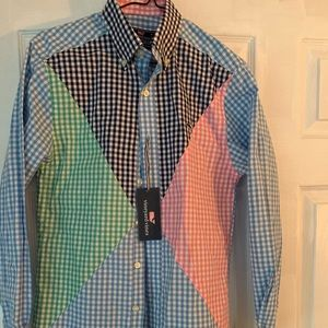Vineyard vines slim fit button shirt NWT xs